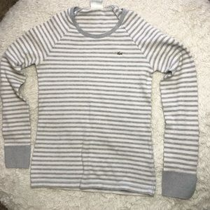 Lacoste Thermal Striped Long Sleeve 42
